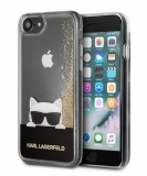 Original  KARL LAGERFELD KLHCPXCHPEEGO iPhone X / XS Liquid Gold