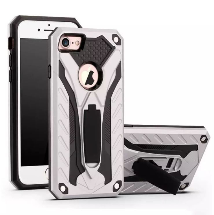 Forcell PHANTOM iPhone X / XS silver