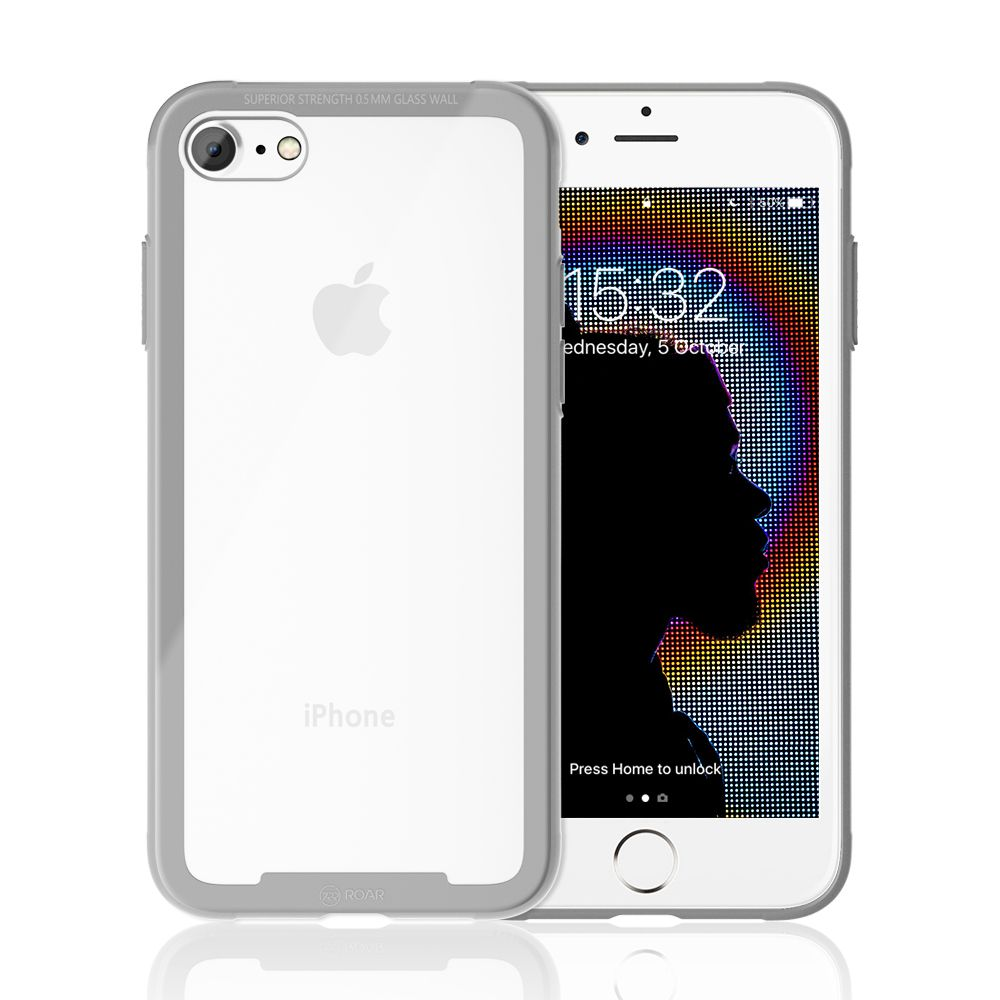 Roar Glass Airframe iPhone 7 / 8 silver