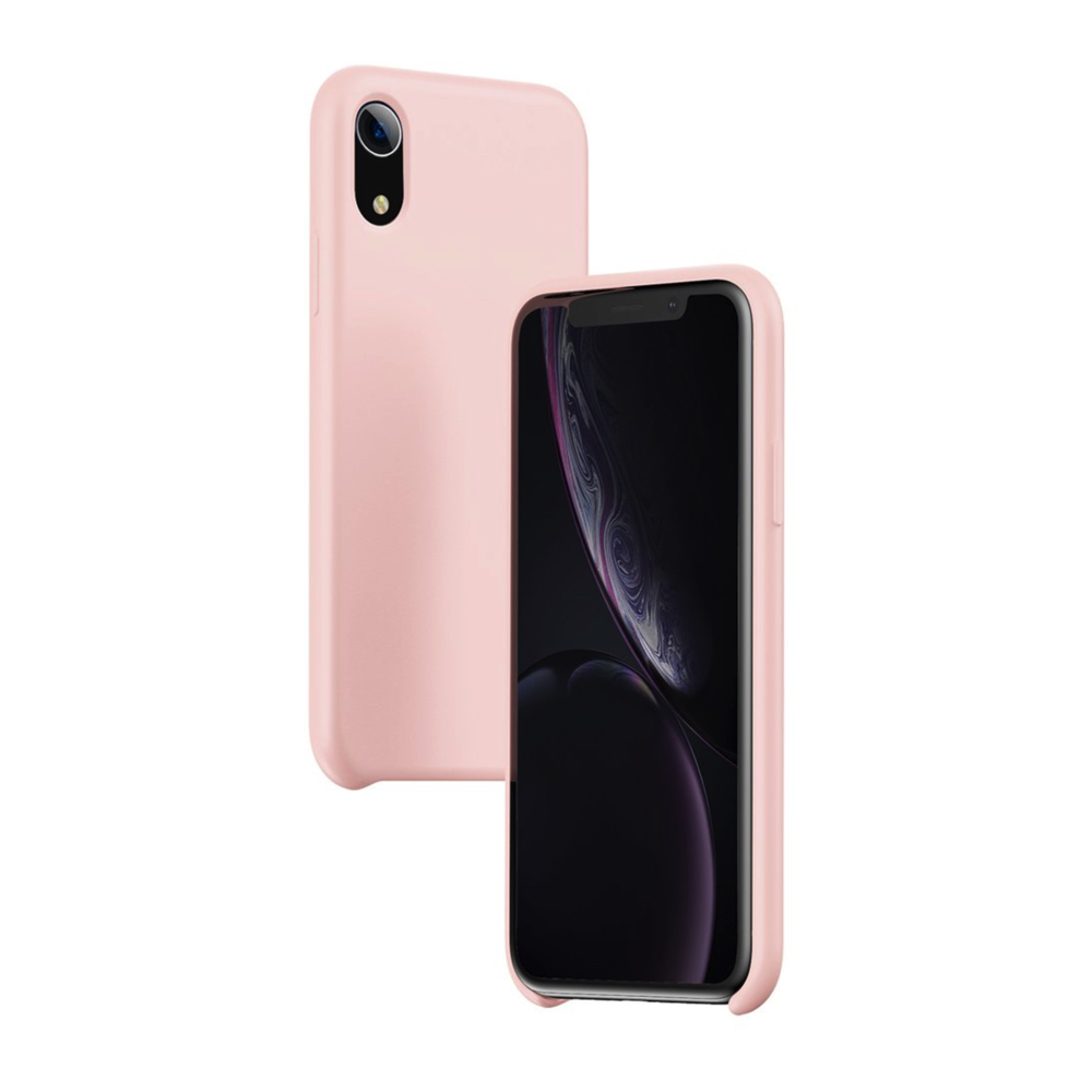 Baseus LSR Silicone iPhone XR pink