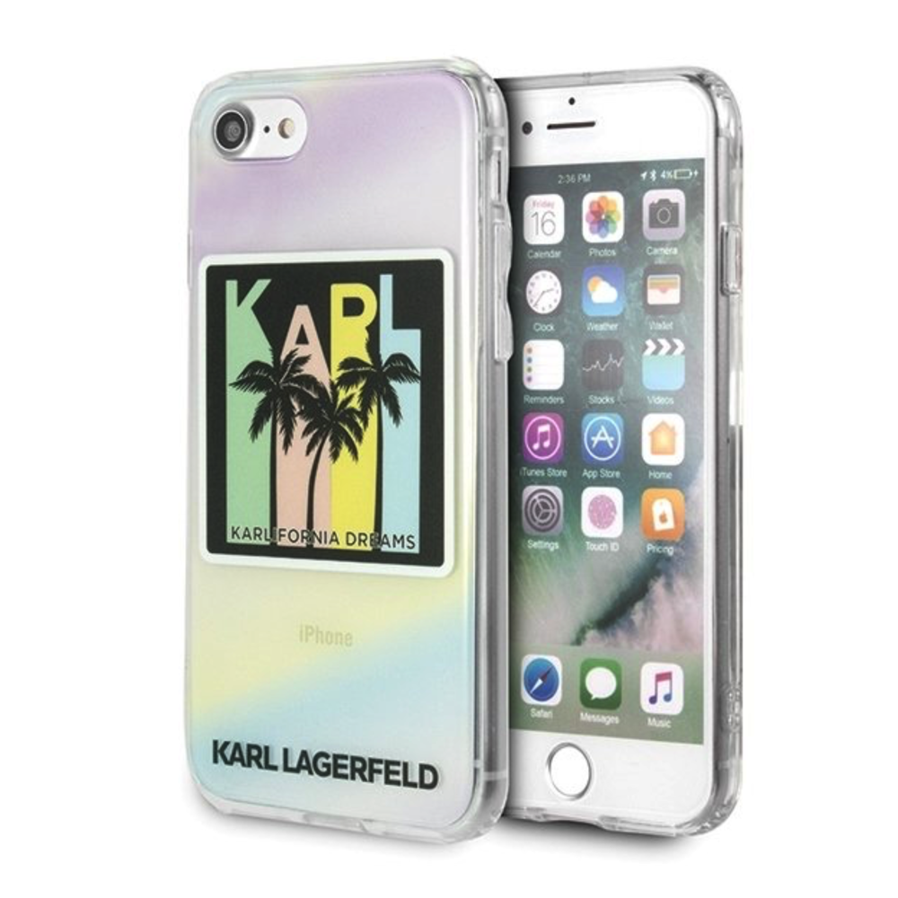 Karl Lagerfeld iPhone 6 / 6S / 7 / 8 / SE 2020 KLHCI8IRKD Kalifornia Dreams