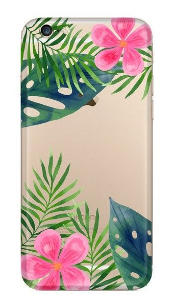 FUNNY CASE iPhone 6 / 6S leaves and flowers