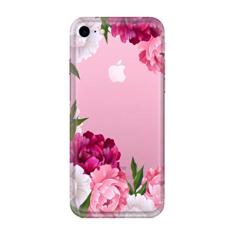 FUNNY CASE iPhone 7 / 8 / SE 2020 flowers of the world