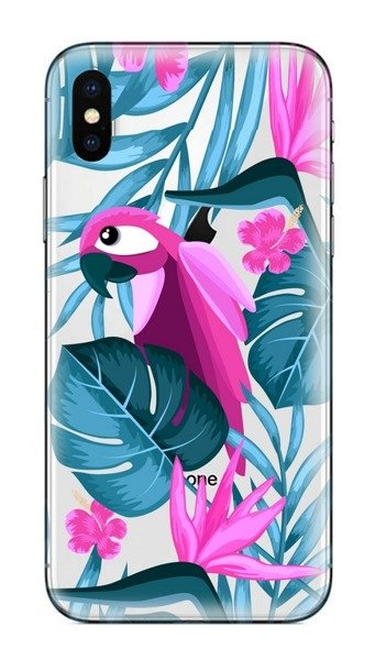 FUNNY CASE iPhone XR parrot