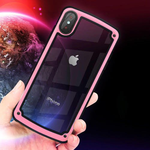 Galaxy Bumper iPhone 7 Plus / iPhone 8 Plus pink