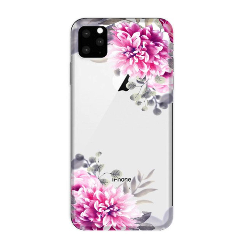 FUNNY CASE iPhone 11 Pro white flowers