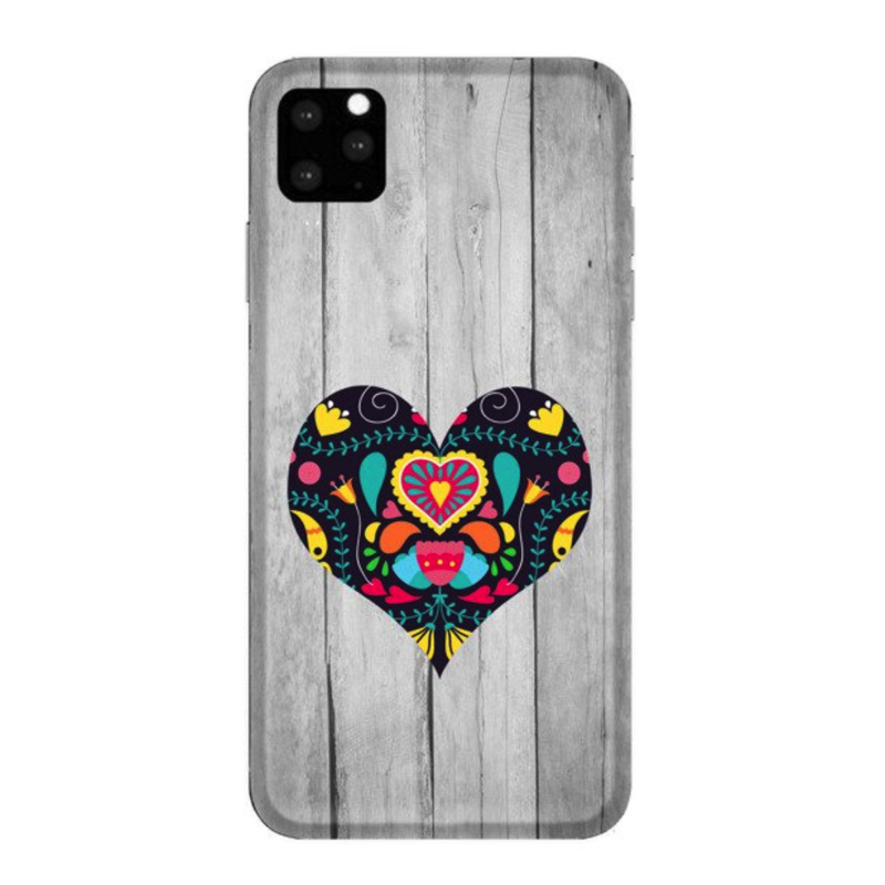 FUNNY CASE iPhone 11 Pro black heart