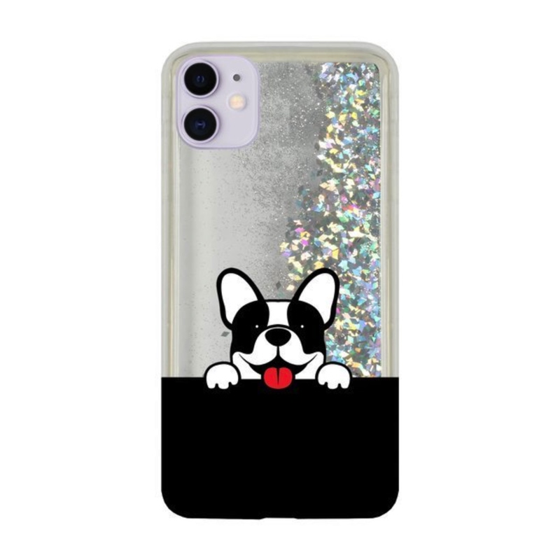 CaseGadget LIQUID BULDOG iPhone 11 silver