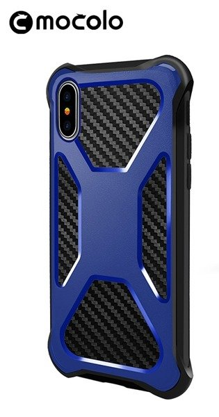MOCOLO Urban Defender iPhone X / XS Navy blue