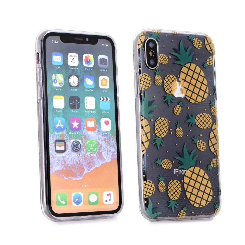 Forcell Summer PINEAPPLE iPhone 5 / 5S / SE