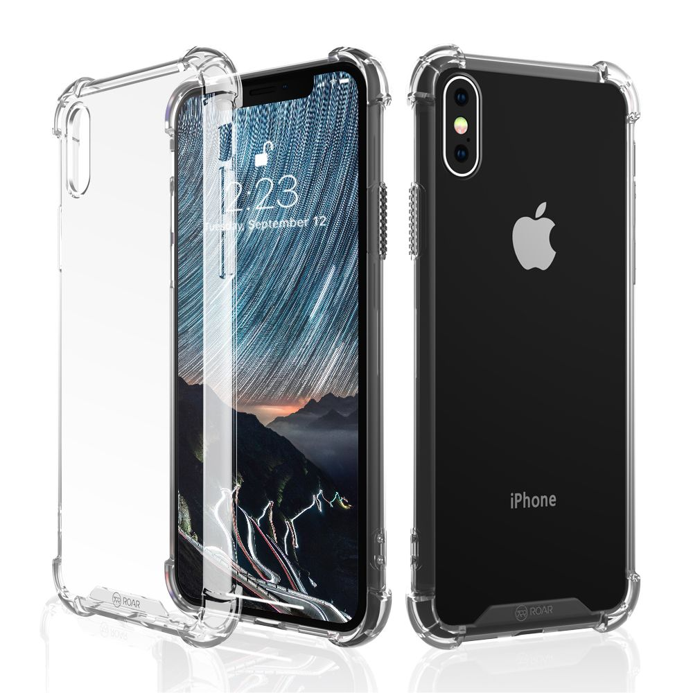 Armor Jelly Case Roar iPhone X / XS transparent