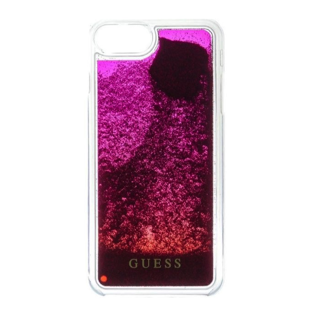 GUESS iPhone 6 / 6S / 7 / 8 GUHCP7GLUGRPI Liquid rose