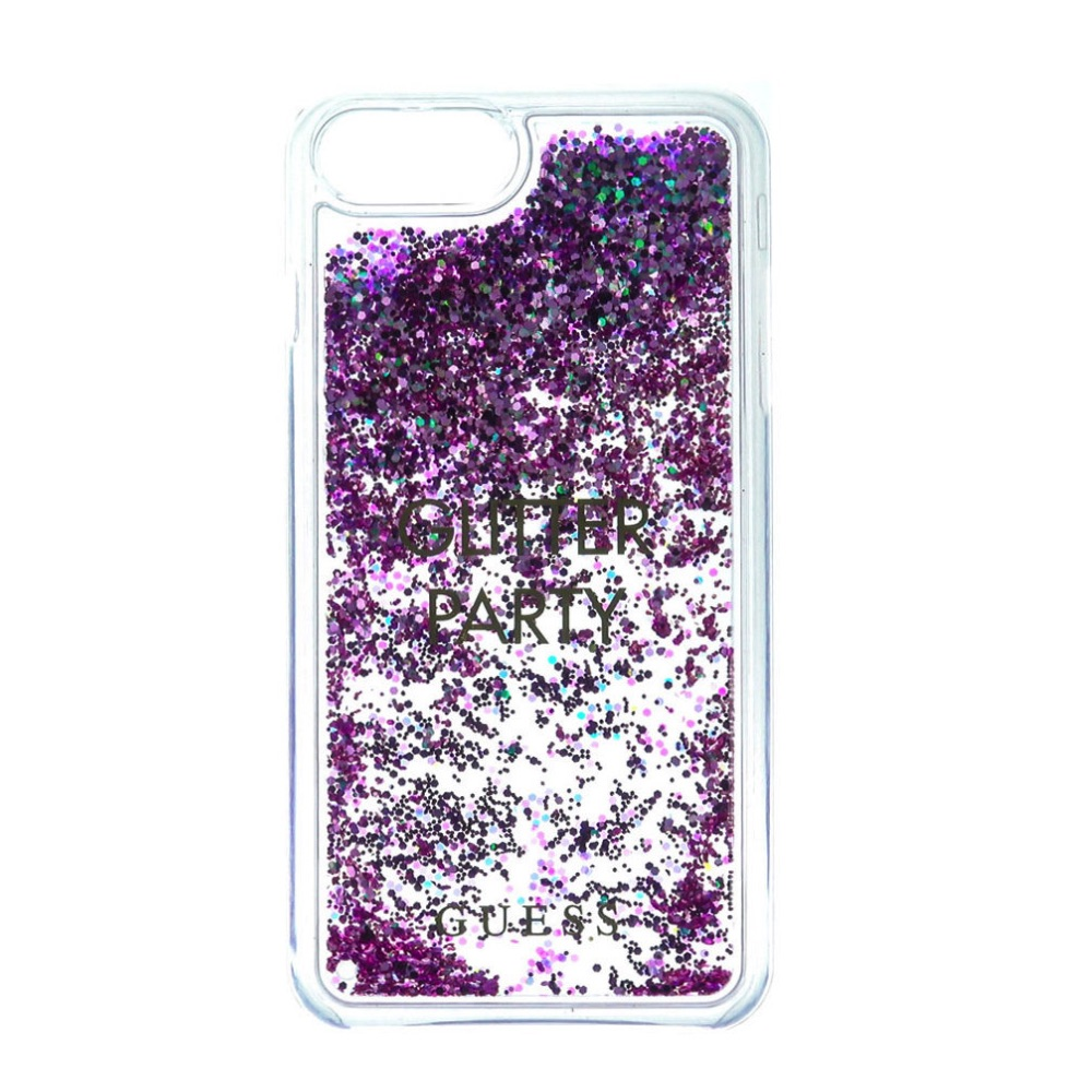 GUESS iPhone 6 / 6S / 7 / 8 GUHCP7GLUQPU Liquid purple