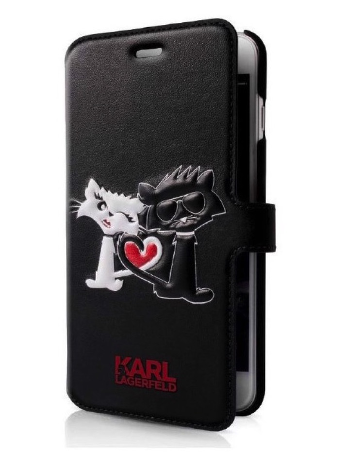 KARL LAGERFELD iPhone 7 / 8 KLFLBKP7CL1BK black