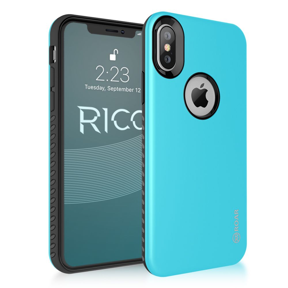 Roar Rico Armor iPhone X / XS light blue