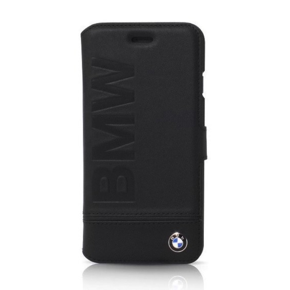 Original book case BMW BMFLBKI8LLLSB iPhone 7 Plus / 8 Plus black