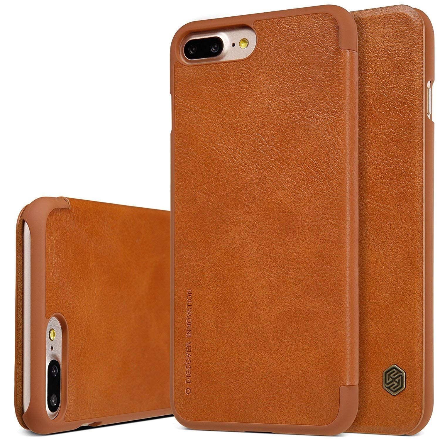 Nillkin Qin Leather iPhone 7 Plus / 8 Plus brown