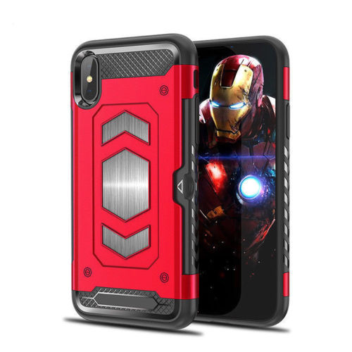 Forcell MAGNET iPhone X / XS red