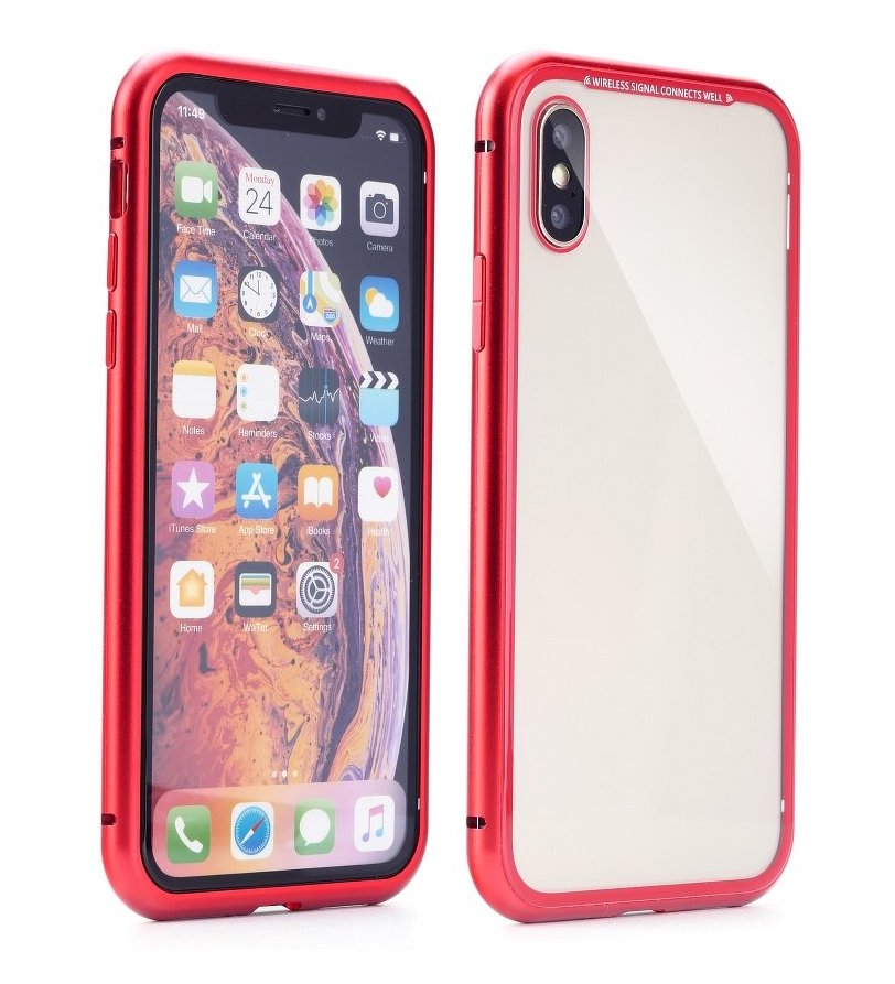 MAGNETO iPhone X / XS red