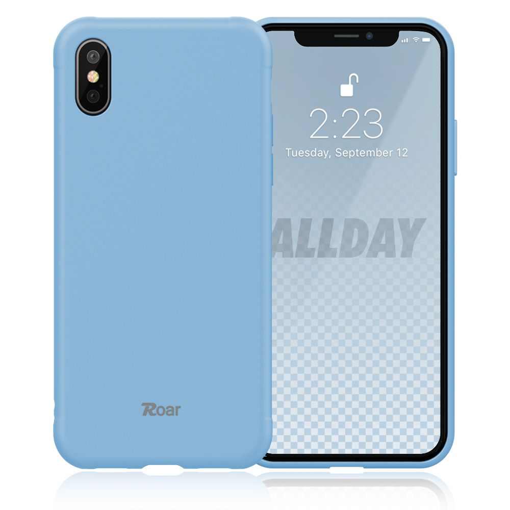 Roar Colorful Jelly iPhone X / XS light blue