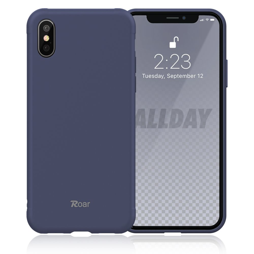 Roar Colorful Jelly iPhone X / XS navy