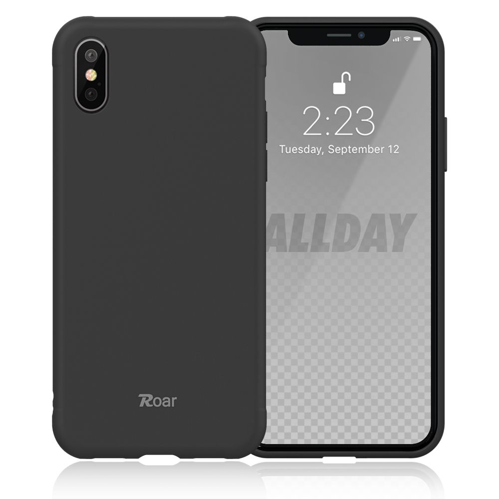 Roar Colorful Jelly iPhone X / XS black
