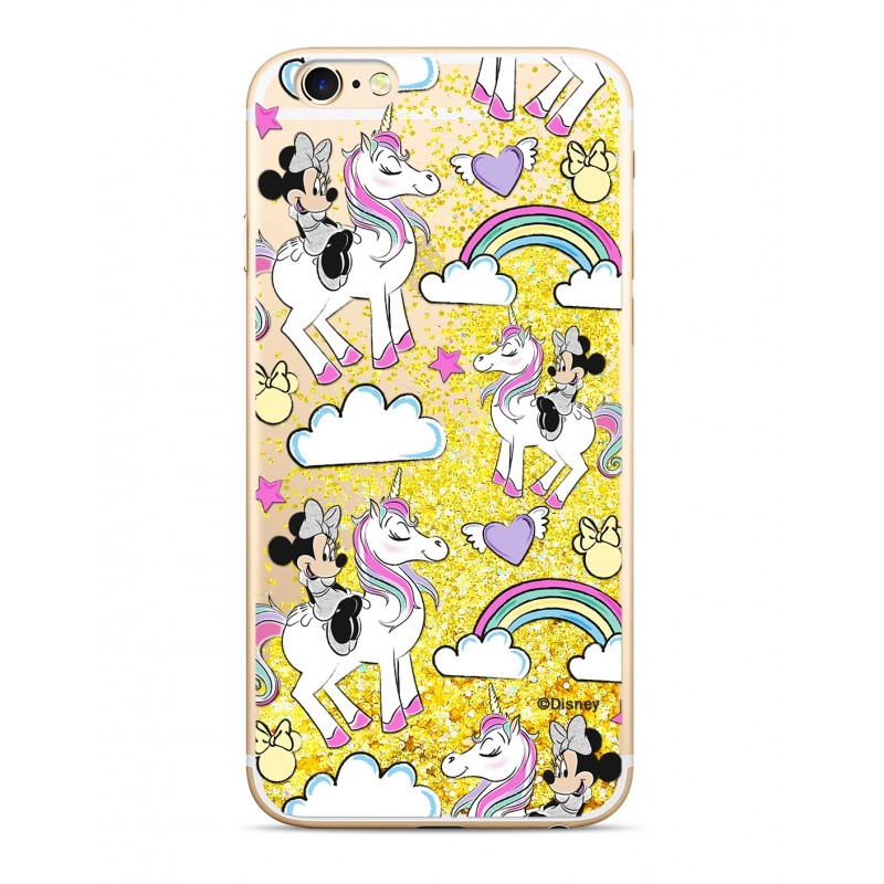 Púzdro Minnie Mouse SAND Gold iPhone X / XS