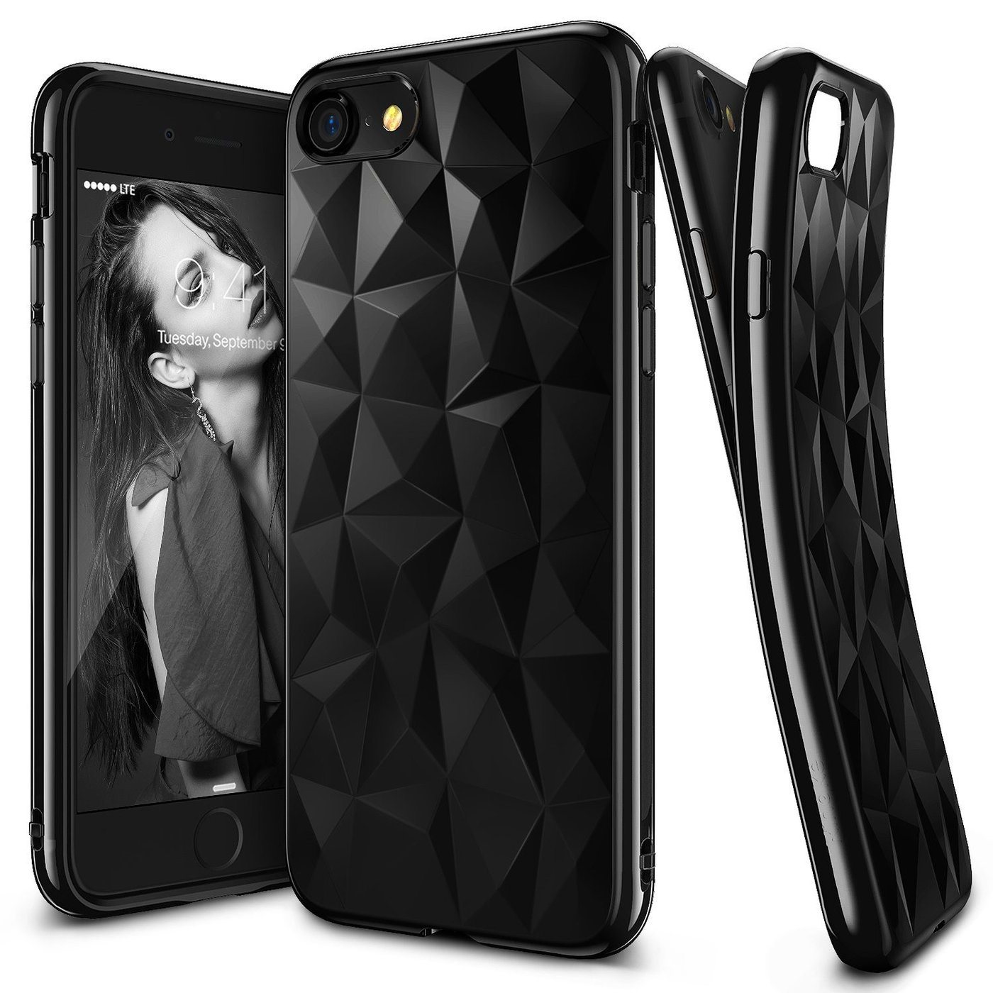 Forcell PRISM iPhone 7 Plus / 8 Plus black