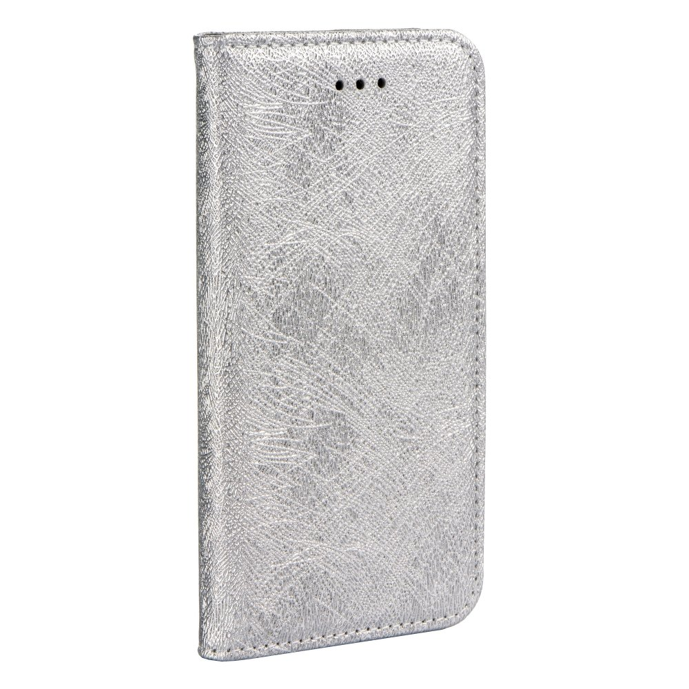 Forcell MAGIC Book iPhone X / XS silver