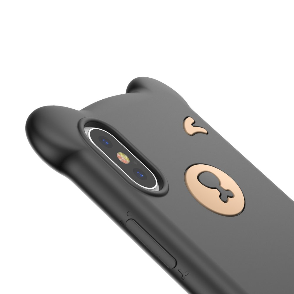 Baseus Bear iPhone XS MAX black