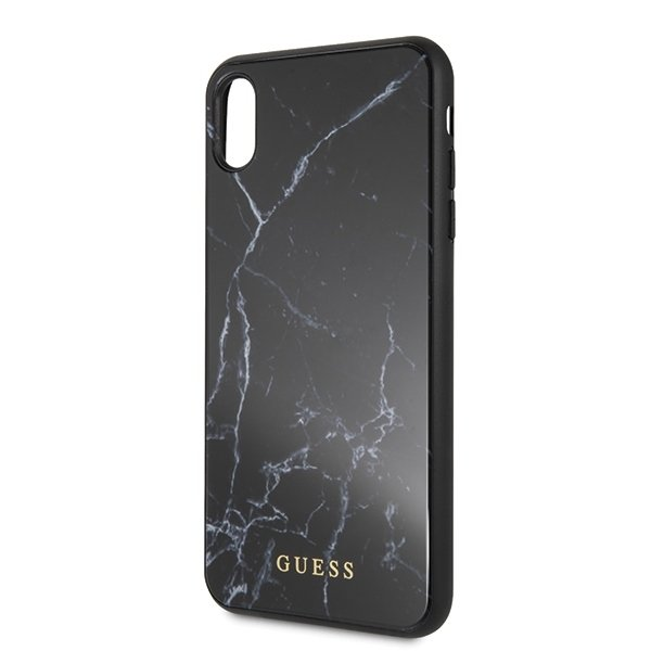 GUESS iPhone XS MAX GUHCI65HYMABK Marble black