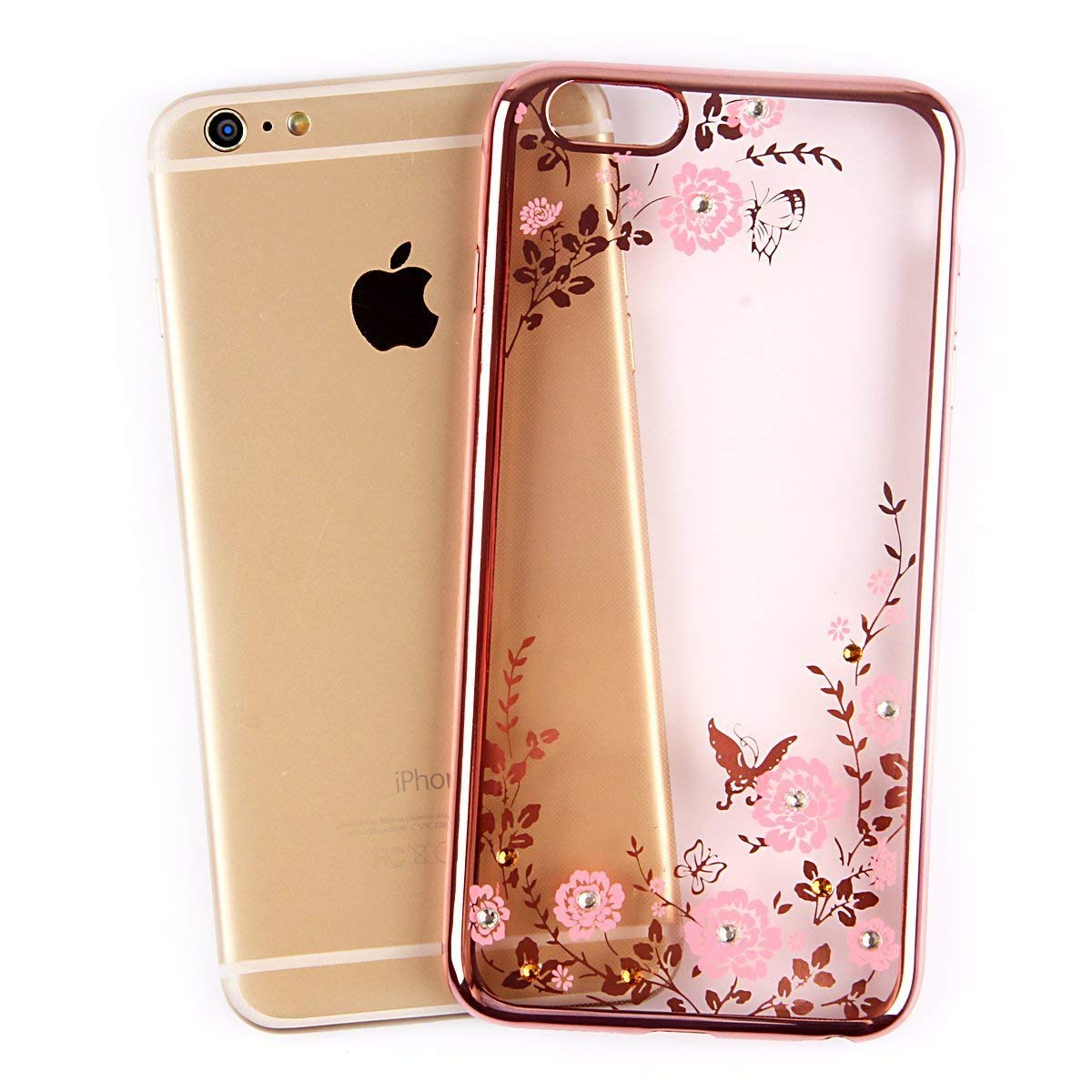 Forcell DIAMOND iPhone 6 / 6S rose-gold