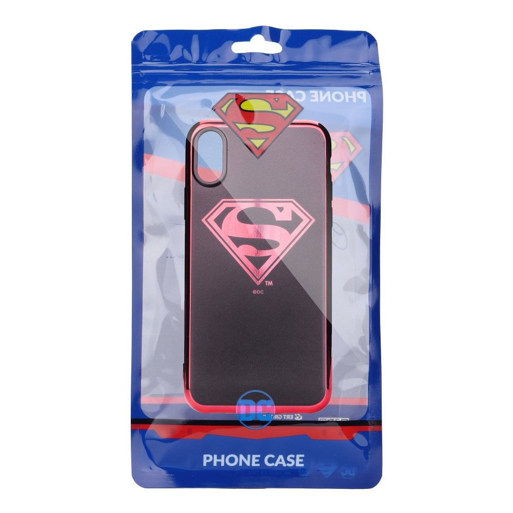 Púzdro Superman Luxury Chrome iPhone 7 / 8