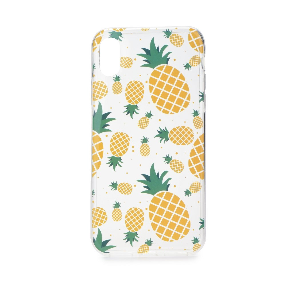 Forcell Summer PINEAPPLE iPhone X / XS