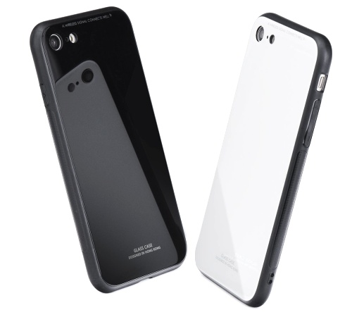 Forcell GLASS iPhone 7 / 8 / SE 2020 black