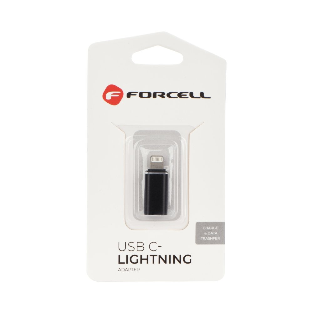 Forcell Adapter iPhone USB C - Lightning