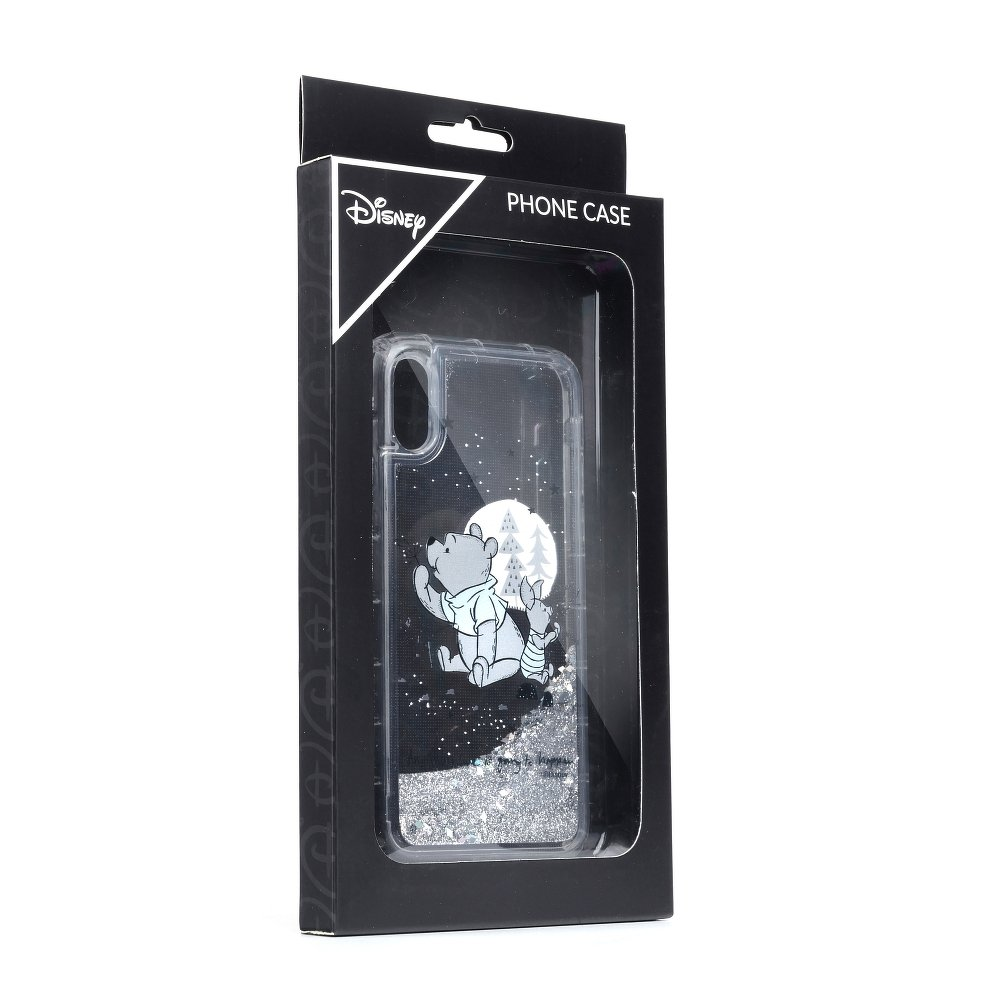 Púzdro Winnie The Pooh SAND Silver iPhone XR