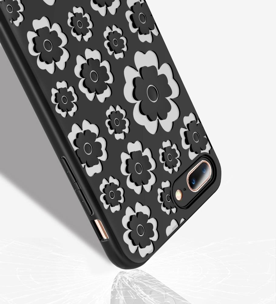 MSVII Flower Flexible iPhone X / XS red