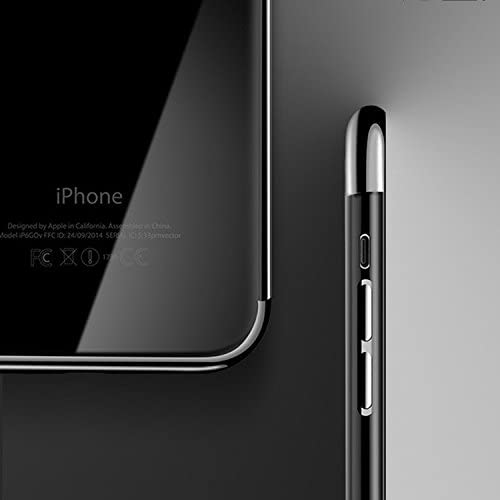 Kryt Electroplating frame iPhone 7 / 8 / SE 2020 black