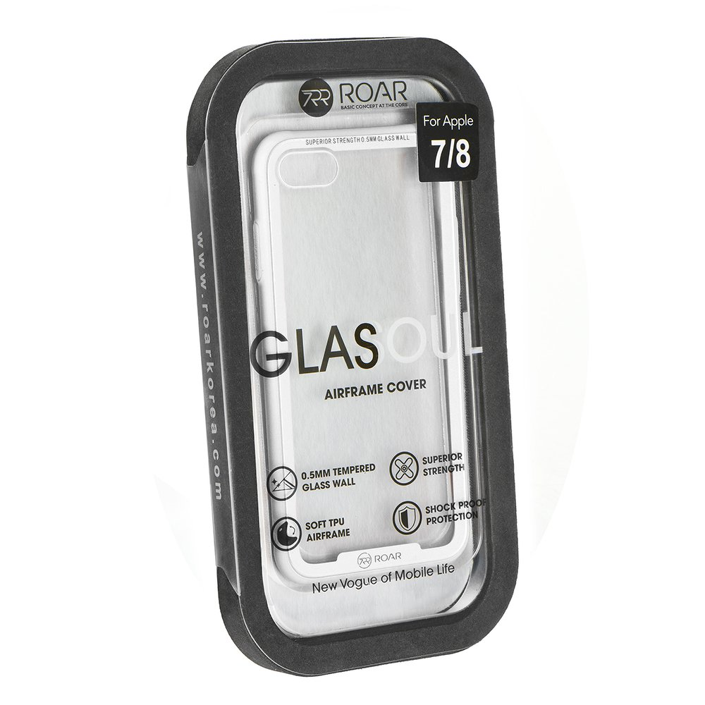 Roar Glass Airframe iPhone X / XS white