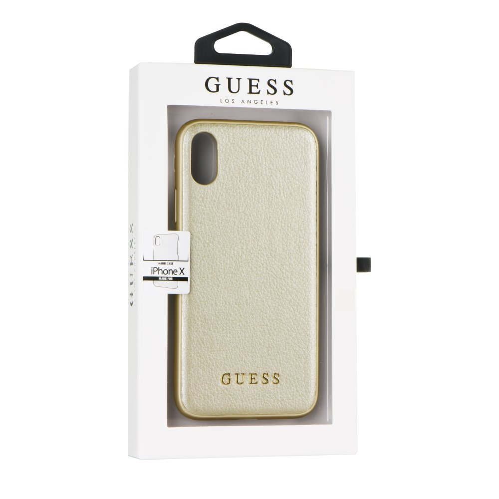 GUESS iPhone X / XS GUHCPXIGLGO gold