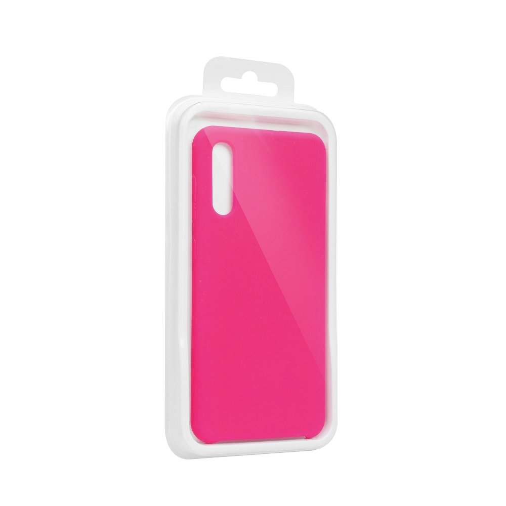 Forcell Silicone iPhone 7 Plus / 8 Plus hot pink (s otvorom pre logo)