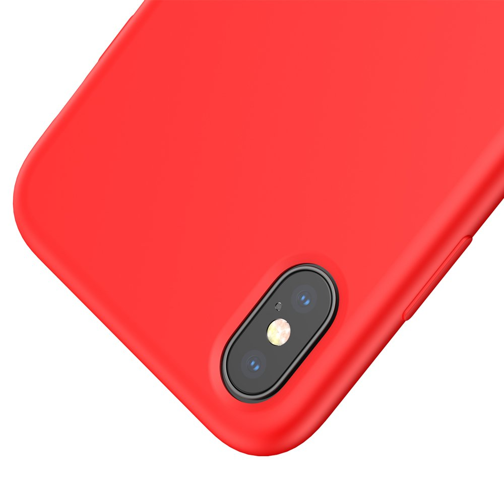 Baseus LSR Silicone iPhone XS MAX red