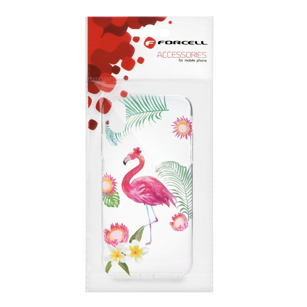 Forcell Summer FLAMINGO iPhone 5 / 5S / SE