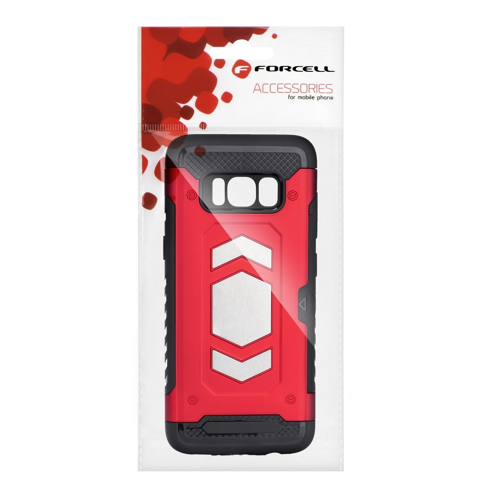 Forcell MAGNET iPhone 7 Plus / 8 Plus red
