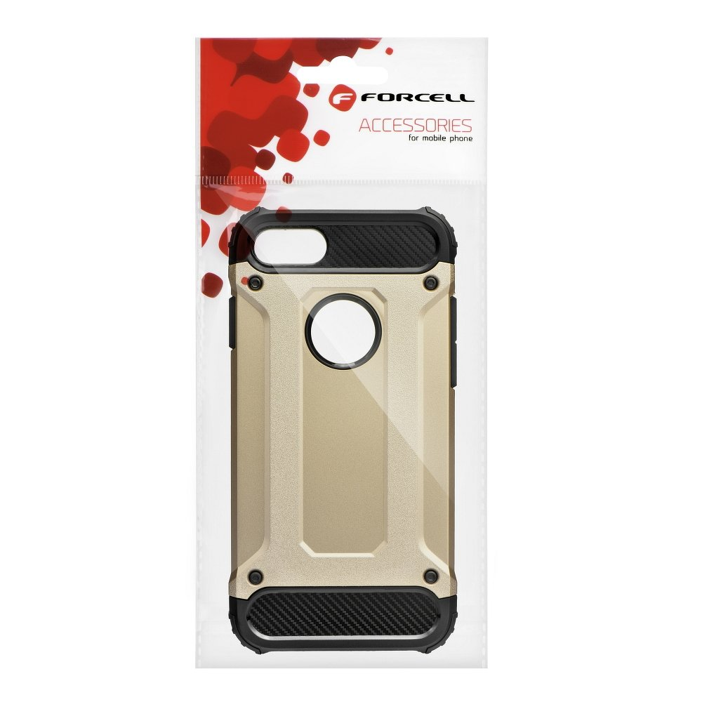 Forcell ARMOR iPhone X / XS gold