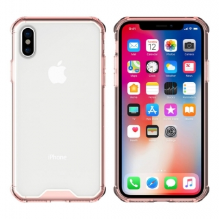 Shockproof case Gel iPhone X / XS pink
