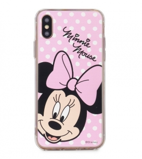 Púzdro Minnie iPhone X / XS pink
