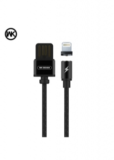 WK-Design Magnetický kabel Lightning Apple WDC-046 1m black