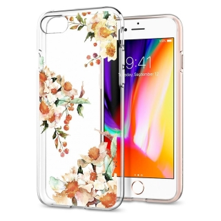 SPIGEN LIQUID CRYSTAL iPhone 7/8 AQUARELLE PRIMROSE